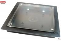 MUOVIKOTELO 130x130x17mm läpinäkyvä
