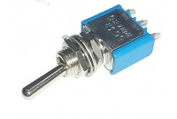 1-POLE SMALL TOGGLE SWITCH ON/(ON)