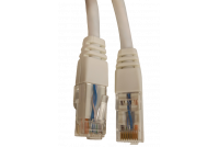 PATCH CABLE CAT6 UTP 1m WHITE
