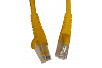 PATCH CABLE CAT6 UTP 5m YELLOW