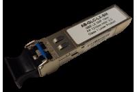 Gigabit Ethernet SFP -moduli Single-mode 1310nm aallonpituudelle, LC -duplex liitynnällä.