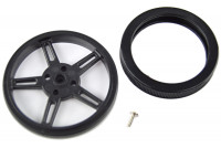 WHEEL FOR FS90R SERVO Ø60x8mm