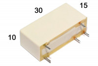 PCB RELAY 1 POLE 10A 9VDC