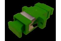 SC / APC simplex adapteri , vihreä Singlemode