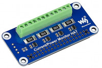 Current/Voltage/Power Monitor HAT for Raspberry Pi