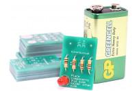 Kitronik RAKENNUSSARJA: Learning to solder LED kit