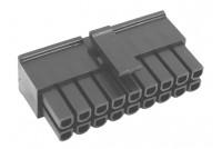 3,0mm 18pole female wire UL 94V-0