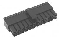 3,0mm 24pole female wire UL 94V-0