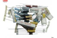 Power resistors approx. 50 pcs