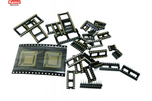 IC-socket, approx. 30 pieces