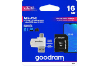 MEMORY CARD microSDHC Kit 16GB WITH READER