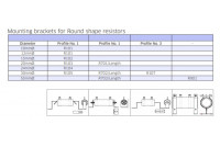 MOUNTING BRACKET R101 D0/12mm 2kpl