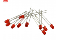 LED Ø 3mm red, approx. 10 pieces