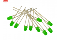 LED Ø 3mm green, approx. 10 pieces
