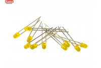 LED Ø 3mm yellow, approx. 10 pieces