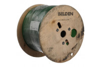 Coaxial Cable, RG6/U, 18 AWG, 75 ohm, in 305 m reel