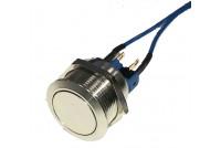 AV Switch SPDT On moment 22mm wi blue wires
