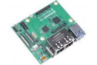 RPI CM4 2x GigaEthernet Carrier Board