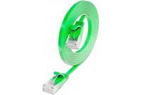 SLIM CAT6 CABLE U/UTP 0,5m green