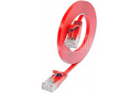 FLAT CAT6 CABLE 1m RED