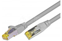 CAT6A PATCH CABLE SHIELDED S/FTP 0,5m grey