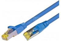 CAT6A VERKKOKAAPELI SUOJATTU S/FTP 10m sininen