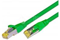 Laitekaapeli cat6A S/FTP 2m, vihreä