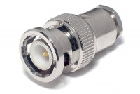 BNC CONNECTOR MALE SOLDERABLE RG58
