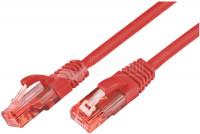 CAT6 PATCH CABLE U/UTP 0,5m red