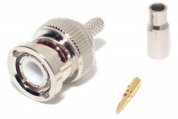 BNC CONNECTOR MALE CRIMP RG179