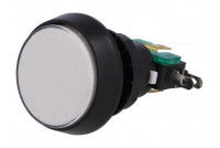 MICRO SWITCH WITH LARGE BUTTON AND WHITE 12V LED LIGHT