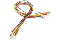 Grove Universal 4P 50cm Buckled Cable (5pcs)