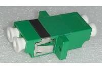 LC Duplex Adapter SM/APC Green Zr sleeve