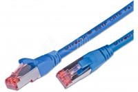 CAT6 VERKKOKAAPELI SUOJATTU S/FTP 10m sininen