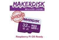 MakerDisk 32GB microSD MUISTIKORTTI