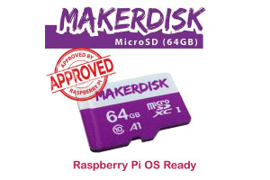 MakerDisk 64GB microSD MUISTIKORTTI