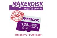 MakerDisk 128GB microSD MEMORY CARD