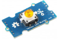 Grove Yellow LED Button