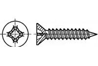 RISTIKANTAPELTIRUUVI 2,2x12mm