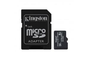 Kingston Industrial microSDHC Kit 8GB