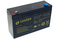 CT-Leader 6V 12Ah SEALED LEAD ACID BATTERY