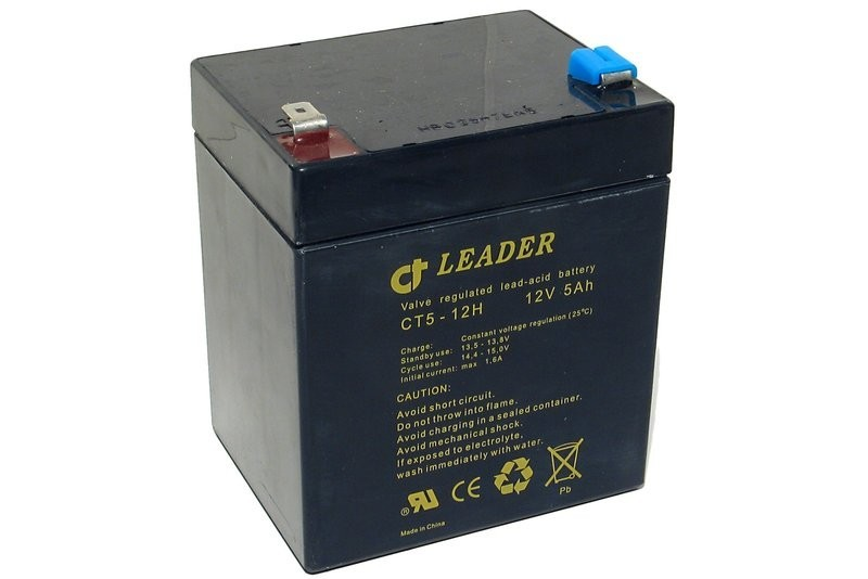 Ct Leader 12v 5ah Sealed Lead Acid Battery Partco