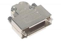 D15 CONNECTOR ENCLOSURE 45deg ANGLE METAL