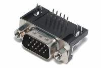 HD15 CONNECTOR MALE ANGLE PCB (VGA)