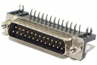 D25 CONNECTOR MALE ANGLE PCB