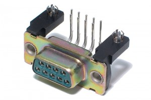 D9 SUB CONNECTOR FEMALE PCB by ITT Cannon