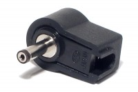 DC CONNECTOR ANGLE 1,3/3,4mm