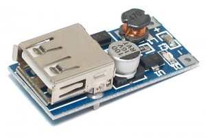 STEP-UP DC/DC-CONVERTER 0,9-5V/5V 500mA USB