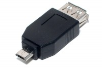 USB-ADAPTER A-FEMALE / microB MALE