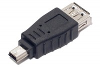 USB-ADAPTER A-FEMALE / miniB MALE